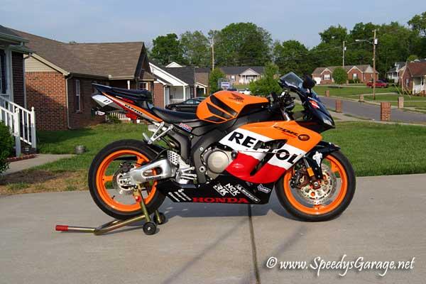 Honda CBR1000RR Tech